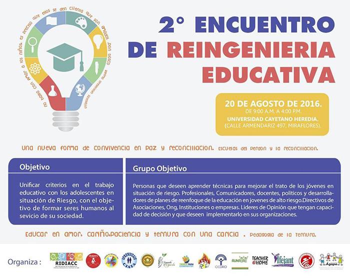 2 ENCUENTRO DE REINGENIERIA EDUCATIVA